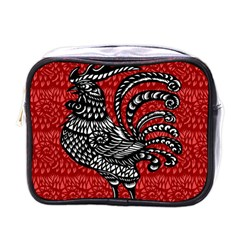 Year of the Rooster Mini Toiletries Bags
