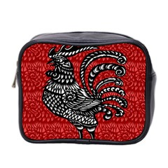 Year of the Rooster Mini Toiletries Bag 2-Side