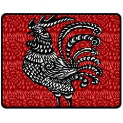 Year of the Rooster Fleece Blanket (Medium)