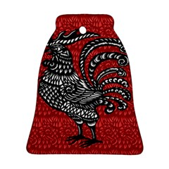 Year of the Rooster Bell Ornament (Two Sides)