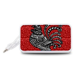 Year of the Rooster Portable Speaker (White)