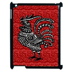 Year of the Rooster Apple iPad 2 Case (Black)
