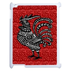 Year of the Rooster Apple iPad 2 Case (White)
