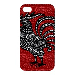 Year of the Rooster Apple iPhone 4/4S Premium Hardshell Case