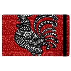 Year of the Rooster Apple iPad 3/4 Flip Case