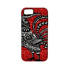 Year of the Rooster Apple iPhone 5 Classic Hardshell Case (PC+Silicone)