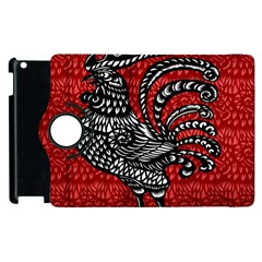 Year of the Rooster Apple iPad 2 Flip 360 Case