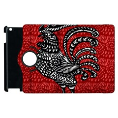 Year of the Rooster Apple iPad 3/4 Flip 360 Case