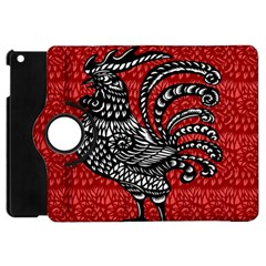 Year of the Rooster Apple iPad Mini Flip 360 Case