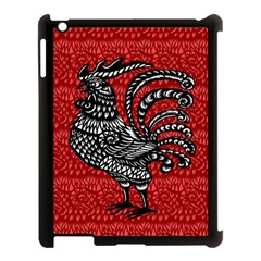 Year of the Rooster Apple iPad 3/4 Case (Black)