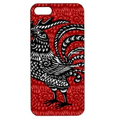 Year of the Rooster Apple iPhone 5 Hardshell Case with Stand
