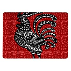 Year of the Rooster Samsung Galaxy Tab 10.1  P7500 Flip Case