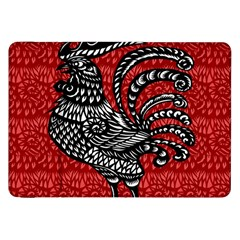 Year of the Rooster Samsung Galaxy Tab 8.9  P7300 Flip Case