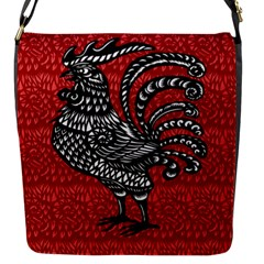 Year of the Rooster Flap Messenger Bag (S)