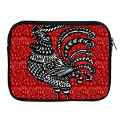 Year of the Rooster Apple iPad 2/3/4 Zipper Cases
