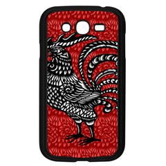 Year of the Rooster Samsung Galaxy Grand DUOS I9082 Case (Black)