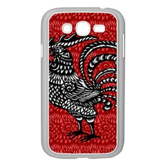 Year of the Rooster Samsung Galaxy Grand DUOS I9082 Case (White)