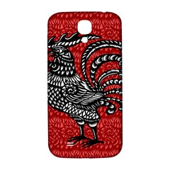 Year of the Rooster Samsung Galaxy S4 I9500/I9505  Hardshell Back Case