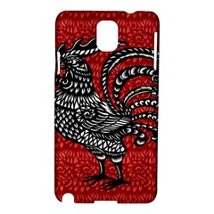 Year of the Rooster Samsung Galaxy Note 3 N9005 Hardshell Case