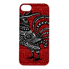 Year of the Rooster Apple iPhone 5S/ SE Hardshell Case