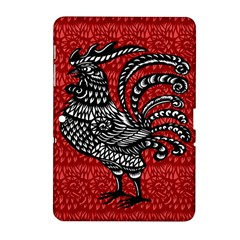 Year of the Rooster Samsung Galaxy Tab 2 (10.1 ) P5100 Hardshell Case