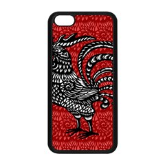 Year of the Rooster Apple iPhone 5C Seamless Case (Black)