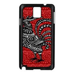 Year of the Rooster Samsung Galaxy Note 3 N9005 Case (Black)