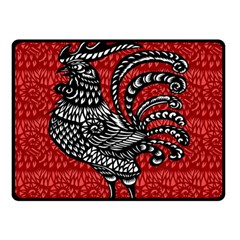 Year of the Rooster Double Sided Fleece Blanket (Small)