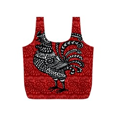 Year of the Rooster Full Print Recycle Bags (S)