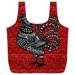 Year of the Rooster Full Print Recycle Bags (L)
