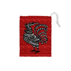 Year of the Rooster Drawstring Pouches (Small)
