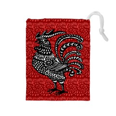 Year of the Rooster Drawstring Pouches (Large)