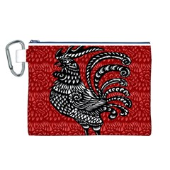 Year of the Rooster Canvas Cosmetic Bag (L)