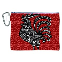 Year of the Rooster Canvas Cosmetic Bag (XXL)