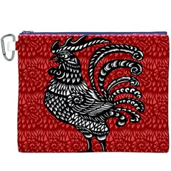 Year of the Rooster Canvas Cosmetic Bag (XXXL)