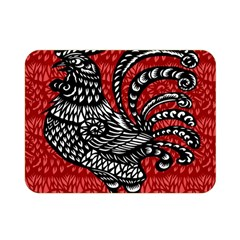 Year of the Rooster Double Sided Flano Blanket (Mini)