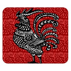 Year of the Rooster Double Sided Flano Blanket (Small)