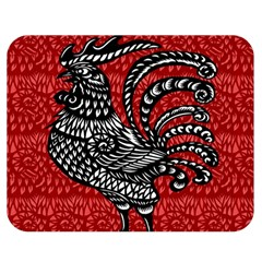 Year of the Rooster Double Sided Flano Blanket (Medium)