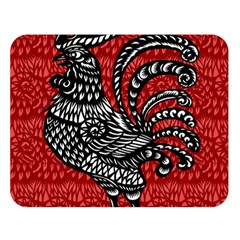 Year of the Rooster Double Sided Flano Blanket (Large)