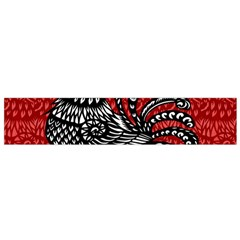 Year of the Rooster Flano Scarf (Small)