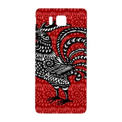 Year of the Rooster Samsung Galaxy Alpha Hardshell Back Case