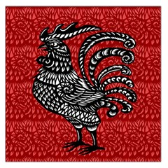 Year of the Rooster Large Satin Scarf (Square)