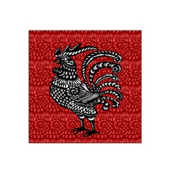 Year of the Rooster Satin Bandana Scarf