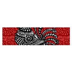 Year of the Rooster Satin Scarf (Oblong)