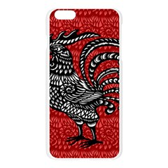 Year of the Rooster Apple Seamless iPhone 6 Plus/6S Plus Case (Transparent)