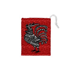 Year of the Rooster Drawstring Pouches (XS)