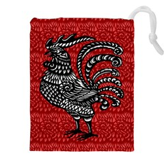 Year of the Rooster Drawstring Pouches (XXL)