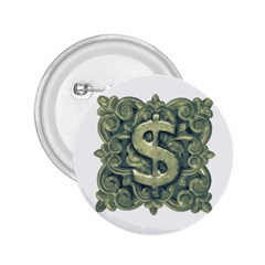 Money Symbol Ornament 2.25  Buttons