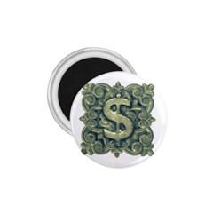 Money Symbol Ornament 1.75  Magnets