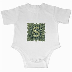 Money Symbol Ornament Infant Creepers